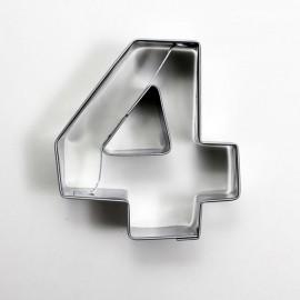 4 Rakam Metal Kurabiye Kalıbı
