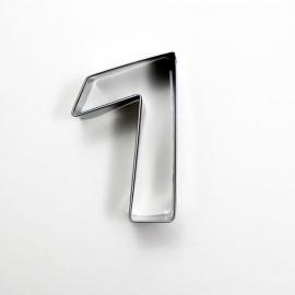 7 Rakam Metal Kurabiye Kalıbı