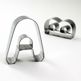 A Harf Metal Kurabiye Kalıbı