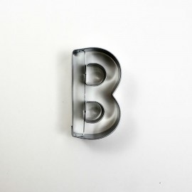 B Harf Metal Kurabiye Kalıbı