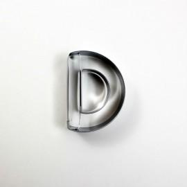 D Harf Metal Kurabiye Kalıbı