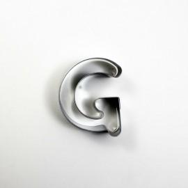 G Harf Metal Kurabiye Kalıbı