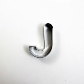 J Harf Metal Kurabiye Kalıbı