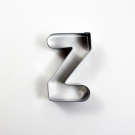 Z Harf Metal Kurabiye Kalıbı