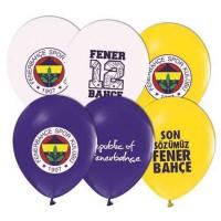 FB Baskılı Latex Balon 8 Adet
