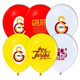 GS Baskılı Latex Balon 8 Adet