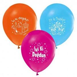 İyi ki Doğdun Latex Balon 8'li