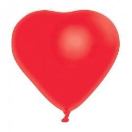 Kalp Şeklinde Kırmızı Balon