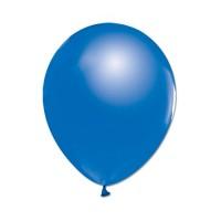 Metalik Balon Lacivert 8 Adet