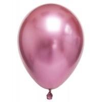 Krom Metalik Pembe Balon 5 Adet