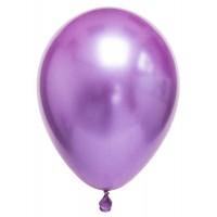 Metalik Balon Lila 8 Adet