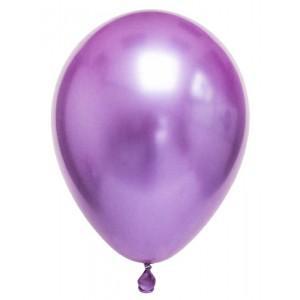 Metalize Mor  Balon , 10 Adet