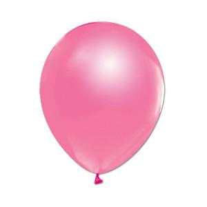 Metalize Pembe  Balon , 10 Adet