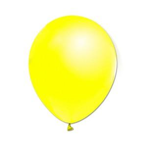 Metalize Sarı  Balon , 10 Adet