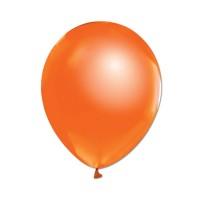 Metalik Balon Turuncu 8 Adet