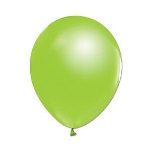 Metalize Yeşil  Balon , 10 Adet