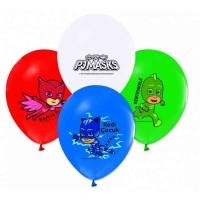 Pj Masks Baskılı Latex Balon 8 Adet