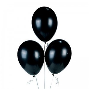 Siyah Balon , 10 Adet